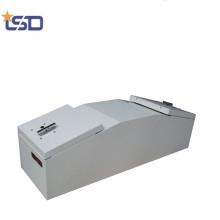 Caja de herramientas de aluminio portátil Gullwing camión cama