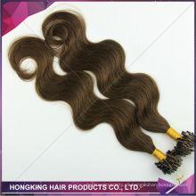Extensiones remy rusas del pelo del remiendo micro de la extensión del pelo del 100% barato