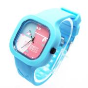 custom fashion jelly silicone watch,cute candy silicon watch