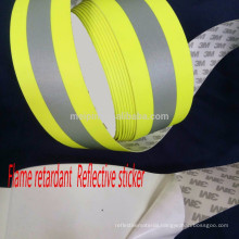 HIGH VISIBILITY FLAME RETARDANT REFLECTIVE TRIPLE TRIM