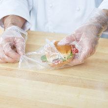 Bolsas para sándwich termoselladas de fondo plano
