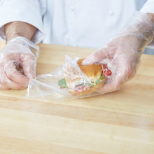 Flat Bottom Heat Seal Sandwich Bags