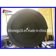 Ancho de cinta transportadora de caucho 650 mm para trituradora