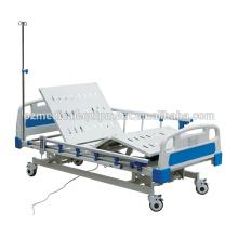 Australien-Standard-Qualitäts-faltbare medizinische Krankenhausbetten icu 3 funktionieren elektrisches Krankenhausbett
