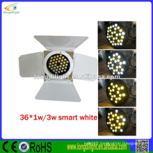 guangzhou lighting 36*1w cold&warm white led photography light