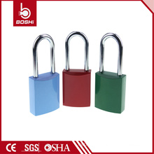 2016 New Design Auto-Popup Aluminum locks BD-A11, Colorful Padlock with Master Key