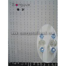 Rideau de perles de cristal romantique pour décoration d'événement