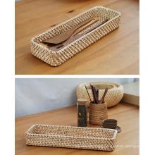 (BC-R1012) Manual Craft Natural Rattan Basket