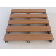 Wpc Waterproof Wood Plastic Composite Pallet Decking For Shipping