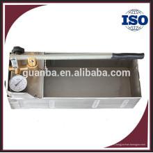 HSY30-5S portable mini 60bar pompe à eau manuelle de test de pression