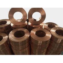 Galvanizado ou recoberta de cobre Fio liso costura
