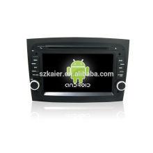Quad core! Android 4.4 / 5.1 voiture dvd pour Fiat Doblo 2016 avec écran capacitif de 7 pouces / GPS / lien miroir / DVR / TPMS / OBD2 / WIFI / 4G