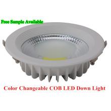 Luz de LED COB Luz de parede LED Downlight LED