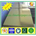 High stiffness gold cardboard/cake board foil paper/gold paperboard
