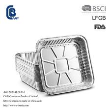 Récipient d'emballage alimentaire de cuisson au barbecue de papier d'aluminium