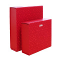 Colored Cardboard Collapsible Rigid Gift Box