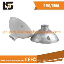 Aluminium-Form-Design-Druckguss-Teile CNC-Bearbeitungsservice für industrielle Komponente