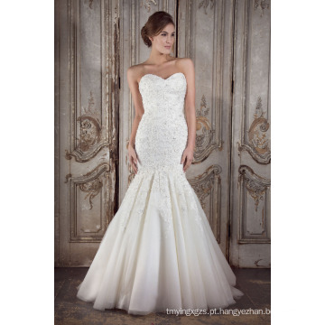 Vestido de noiva vestido de noiva mais recente (xf1083)