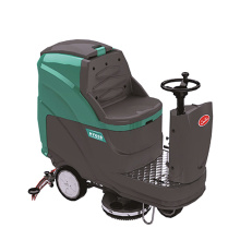 Automatische Ride-on Scrubber droger