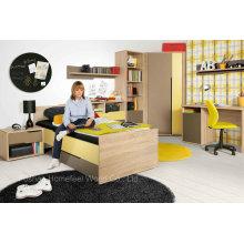 Заводская цена Детская детская мебель для спальни (HF-EY08114)
