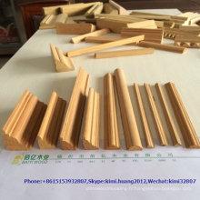 moulure de plinthe en bois massif antique