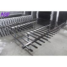 Panel de cercado de guarnición pregalvanizado de seguridad recubierto de polvo