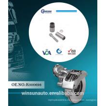 Juego de reparación de brocas cortas Knorr pinza K000698 para repuestos de camiones, kit de reparación de frenos