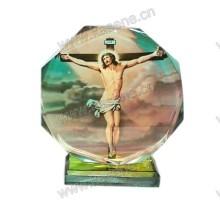 Популярные Кристалл Персонализированные Религиозные Украшения для Домашнего Декор
