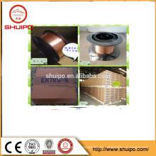 Arame de solda de revestimento de cobre MIG / MAG ER70S6 / ER7-s4