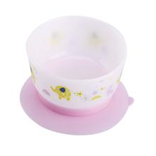 A0203 Vajilla para bebé, succión, entrenamiento, tazón, sin BPA