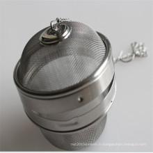 La boule d'infuseur de thé d'acier inoxydable la moins chère utilisée pour le filtre à café