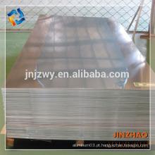 Placa de alumínio de 2mm 3mm de espessura 606 6063 produtos de alta qualidade material de aeronave