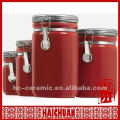 Keramik Rottee Kaffee Zucker Kanister, Küche Kanister