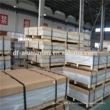 Feuilles de toiture en aluminium, construction en aluminium, construction en aluminium