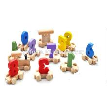 juguete educativo directo de fábrica mini modelo de dibujos animados de tren