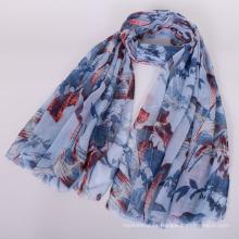 Premium New Shades mujeres de algodón suave viscosa hijab hijab americano mujeres bufanda