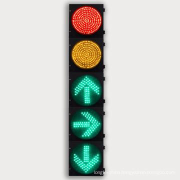 300mm 2-Round + 3-Arrow LED Traffic Light with High PF Driver