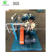 Compressor de diafragma de óxido de gás / nitrogênio sorridente para uso médio