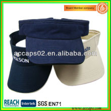 Casquillo de visera de sol personalizado VS-2604