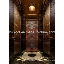 Villa Elevator with Wooden Decoration