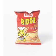 Plastic Puffed Food Packaging Pouch