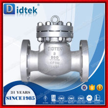 Didtek API6D Stainless Steel Cast 3 Inch Swing Check Valve