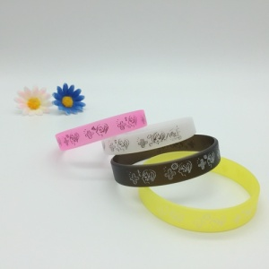 Full Color Printing Silicone Bracelets