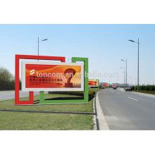 Caja de luz de visualización de publicidad al aire libre