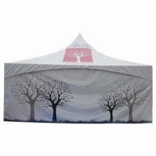 Pagoda Marquee, Waterproof, PVC Coated Polyester Textile