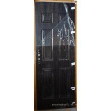 Seis paneles de diseño interior americano puerta
