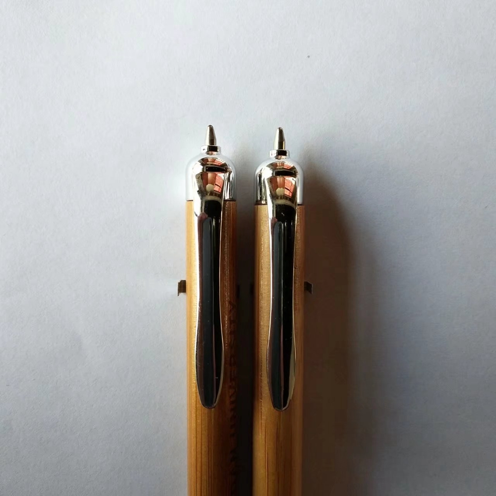 Promotional Bamboo Pen with Stylus