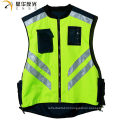 CNSS customized design assorted color high visibility reflective safety vest