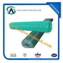 Завод дешевые цены PVC Caoted сварная сетка