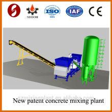 MD1800 usine de dosage de béton mobile de haute qualité, usine de mélange de béton mobile.Plateau de béton mobile